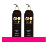 Шампунь и кондиционер Chi Argan oil